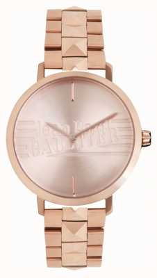 Jean Paul Gaultier Montre-bracelet pour femme bad girl rose doré 8505701