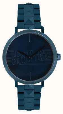 Jean Paul Gaultier Montre bracelet de bad ton femme bleu 8505702