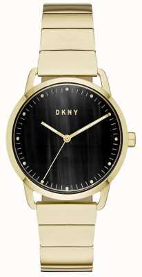 DKNY Montre-bracelet à cadran noir pour femme NY2756