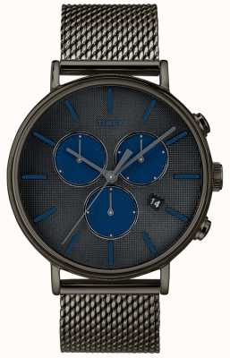 Timex Fairfield supernova chronographe montre bracelet en maille grise TW2R98000D7PF