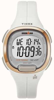 Timex Montre homme en or blanc et rose TW5M19900SU