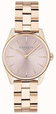 Coach Bracelet pour femme en or rose de luxe moderne 14503206