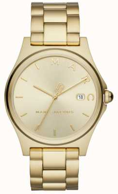 Marc Jacobs Femmes henry montre ton or MJ3584