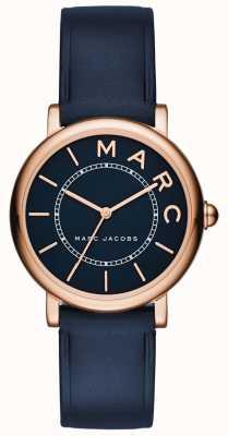 Marc Jacobs Montre classique marc jacobs femme en cuir bleu marine MJ1539