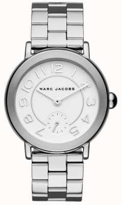 Marc Jacobs Montre femme Riley ton argent MJ3469