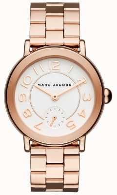 Marc Jacobs Montre Riley Femme ton or rose MJ3471