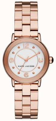 Marc Jacobs Montre Riley Femme ton or rose MJ3474