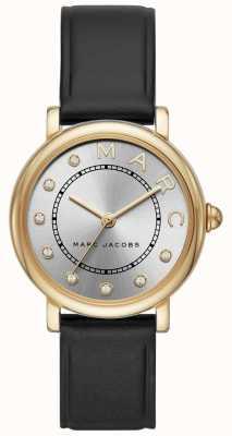 Marc Jacobs Montre classique marc jacobs femme en cuir noir MJ1641