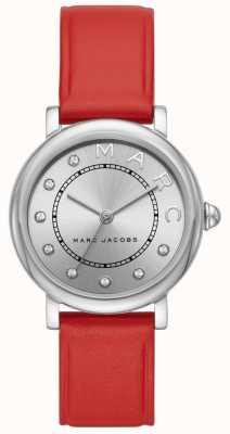 Marc Jacobs Montre classique marc jacobs femme en cuir rouge MJ1632