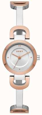 DKNY Montre bracelet en acier inoxydable Womens City Link NY2749