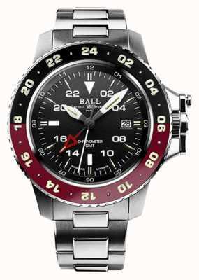 Ball Watch Company Ingénieur hydrocarbure aérogmt ii cadran noir 42mm DG2018C-S3C-BK