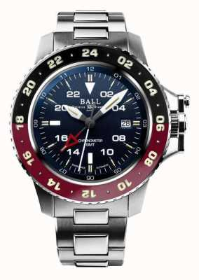 Ball Watch Company Ingénieur d'hydrocarbure aerogmt ii 42mm cadran bleu DG2018C-S3C-BE