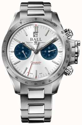 Ball Watch Company Cadran argenté chronographe 42mm CM2198C-S2CJ-SL