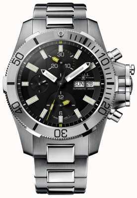 Ball Watch Company Chronographe ingénieur hydrocarbure sous-marin de guerre 42mm DC2276A-SJ-BK