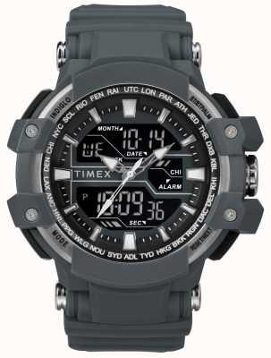 Timex Boitier homme 50mm gris foncé Bracelet gris foncé TW5M22600