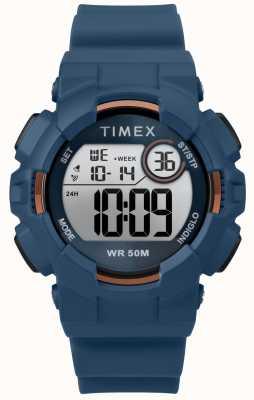 Timex Etui bleu pour femme 44 mm bleu TW5M23500