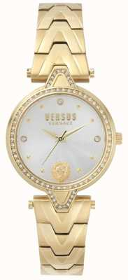 Versus Versace Bracelet pvd cadran or serti v / pierre sertie de pierres SPCI350017