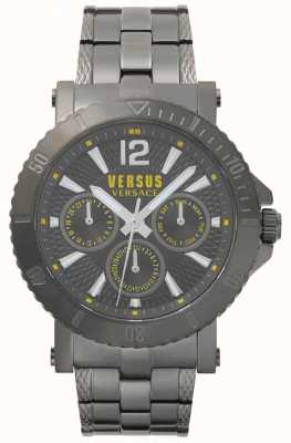 Versus Versace Bracelet homme steenberg gris cadran gris acier inoxydable SP52050018