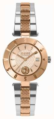 Versus Versace Bracelet femme en or rose avec cadran deux tons SP77260018