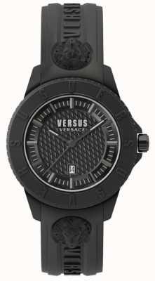 Versus Versace Bracelet silicone noir noir SPOY230018