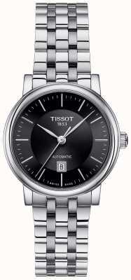 Tissot | Carson automatique dame | acier inoxydable noir | T1222071105100