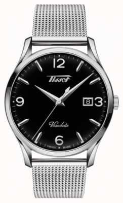 Tissot Cadran noir en acier inoxydable quartz T1184101105700