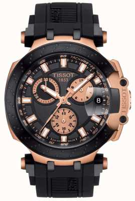 Tissot Cadran chronographe homme quartz chrono noir cadran doré T1154173705100