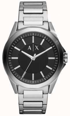 Armani Exchange Montre habillée en acier inoxydable pour homme AX2618