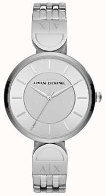 Armani Exchange Dames robe montre en acier inoxydable voler AX5327
