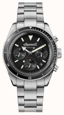 Ingersoll Le chronographe automatique Scovill en acier inoxydable I06201