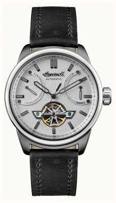 Ingersoll Le bracelet en cuir noir automatique triomphe I06701