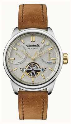 Ingersoll Le bracelet en cuir marron triomphe I06702
