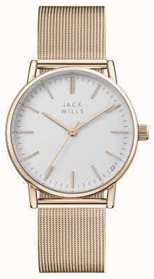 Jack Wills Bracelet maille pvd doré rose JW013RSRS