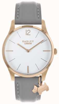 Radley Montre femme en or rose avec bracelet en frêne RY2712