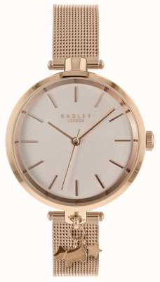 Radley Mesdames montre en or rose RY4364