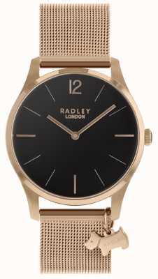Radley Montre femme bracelet en or rose RY4356