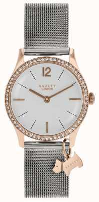 Radley Cristaux swarovski dames cadran blanc argenté RY4351