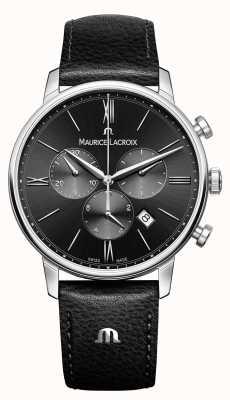 Maurice Lacroix Eliros chronographe mens cadran noir EL1098-SS001-310-1