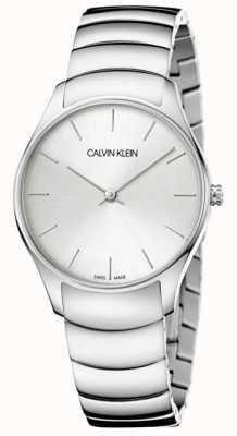 Calvin Klein Montre classique en acier inoxydable pour femme K4D22146