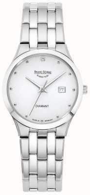 Bruno Sohnle Femmes florenz | cadran blanc | bracelet en acier inoxydable 17-13197-252
