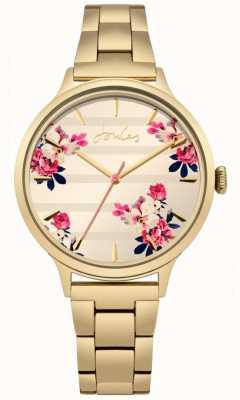 Joules Bracelet plaqué or pvd pour femme avec flore florale JSL002GM