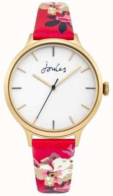 Joules Cadran blanc joules casey bracelet en cuir floral femme JSL003PG