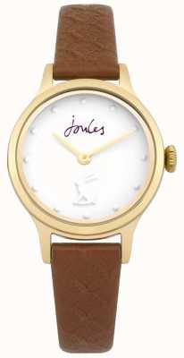 Joules Bracelet en cuir beige marron pour femme JSL007TG