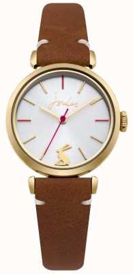 Joules Bracelet en cuir brun clair pour femme JSL004TG