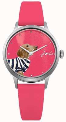 Joules Bracelet en silicone rose pour femme cadran rose JSL010P