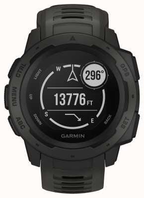 Garmin Bracelet Silicone Gps Outdoor Instinct Graphite Gris 010-02064-00