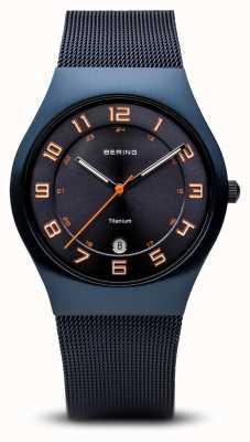 Bering Titane | bleu brossé 11937-393