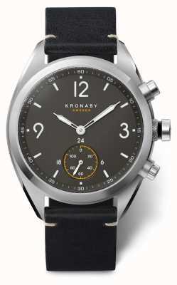 Kronaby Apex smartwatch | bracelet noir | a1000-3114 S3114/1