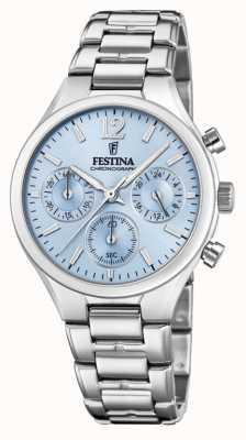 Festina Cadran bleu acier inoxydable F20391/3