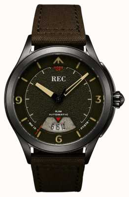 REC | pt879 mk ix spitfire | sangle en toile | montre automatique | RJM-03